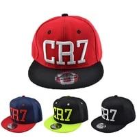 children ronaldo cr7 baseball cap hat boys girls kids cristiano ronaldo snapback hats hip hop caps gorras