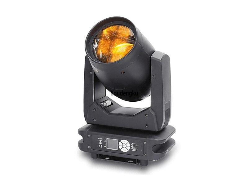 4 piezas pequeña carcasa led movinghead beam100W doble prisma LED Luz de cabeza móvil