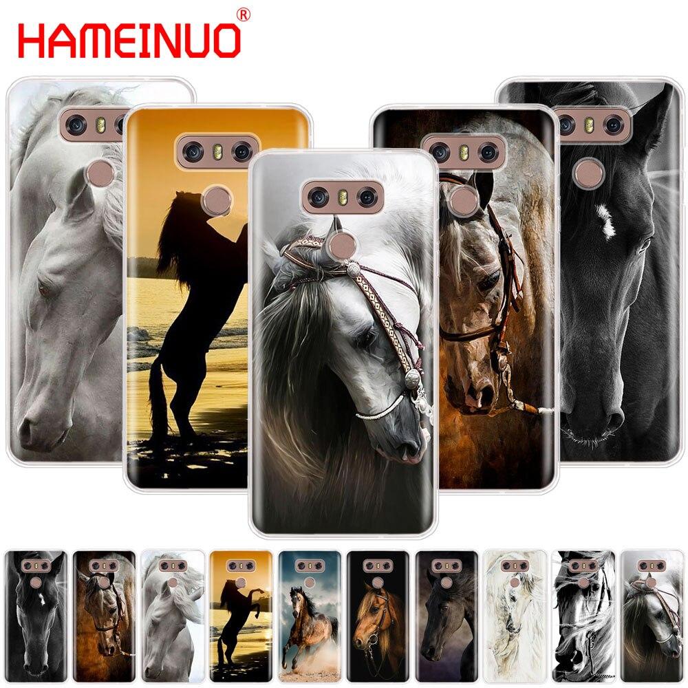 HAMEINUO Animal carcasa impresa cubierta del teléfono de LG G7 Q6 G6 MINI G5 K10 K4 K8 2017 2016 X POWER 2 V20 V30 2018