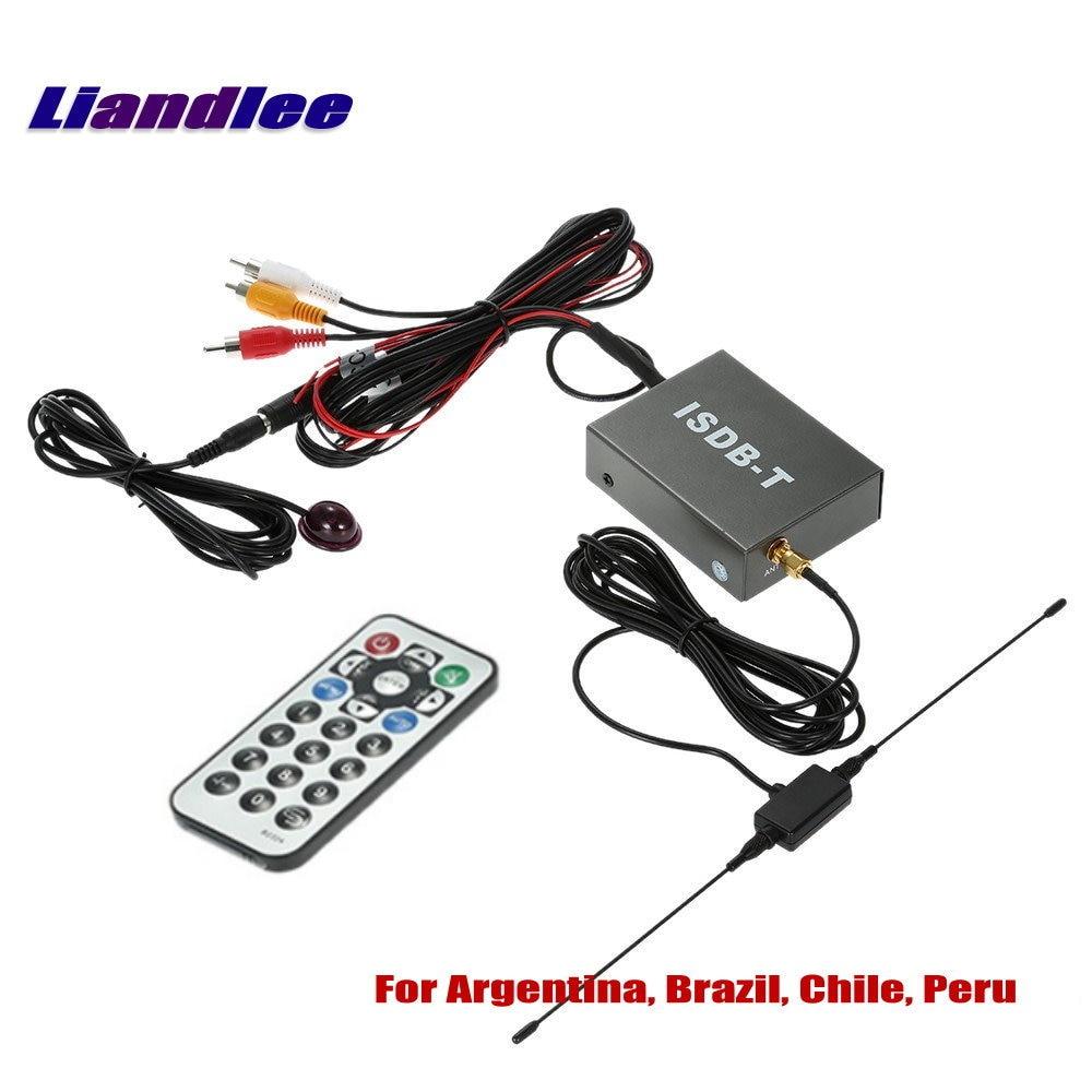 Car Digital TV Receiver ISDB-T Mobile HD Turner Host For South America Argentina, Brazil, Chile, Peru / Model T502