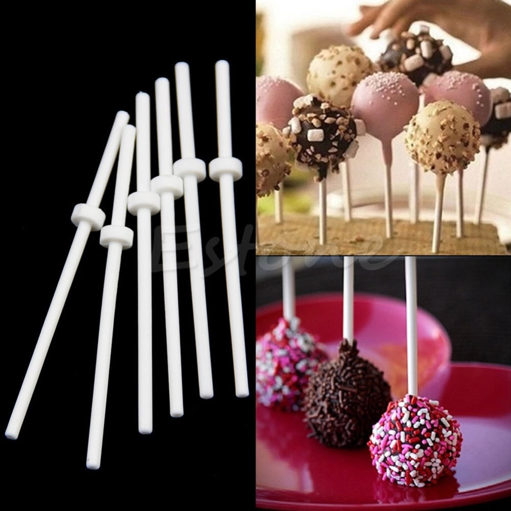 60 uds palitos Cake pop palos pastel de Chocolate palitos de piruletas dulce Hacer Dulces