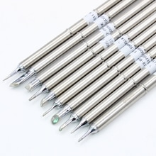 1Pc T12-BC2 B B2 BC1 BC2 BC3 B4 BCF1 Soldering Iron Tips ect series for Hakko Soldering Rework Station FX-951 FX-952