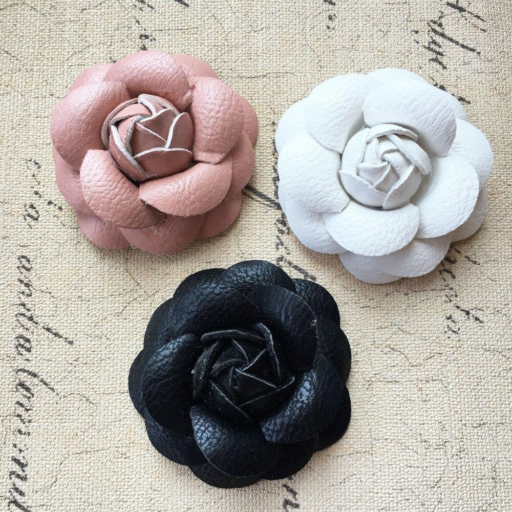 Бесплатная доставка, 10 шт./лот, ручная работа, искусственная ткань, 3D, Camellia, цветы, рукоделие, наклейки, подходят для женщин, заколки для волос, обувь, одежда, сделай сам