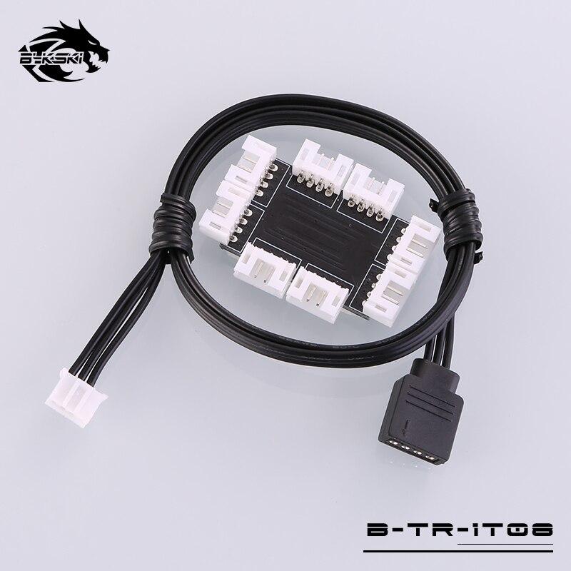 Bykski B-TR-1T08 8 canales RBW Led dispositivo distribuidor de sincronización