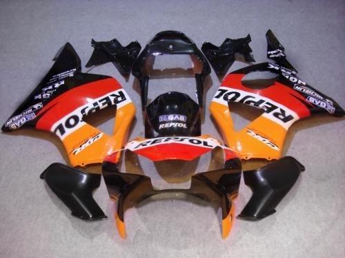 Dor-Hot Sales,CBR900 900RR Fairing Kit For  CBR954RR 2002-2003 CBR900RR 954 02 03 red orange black Fairings