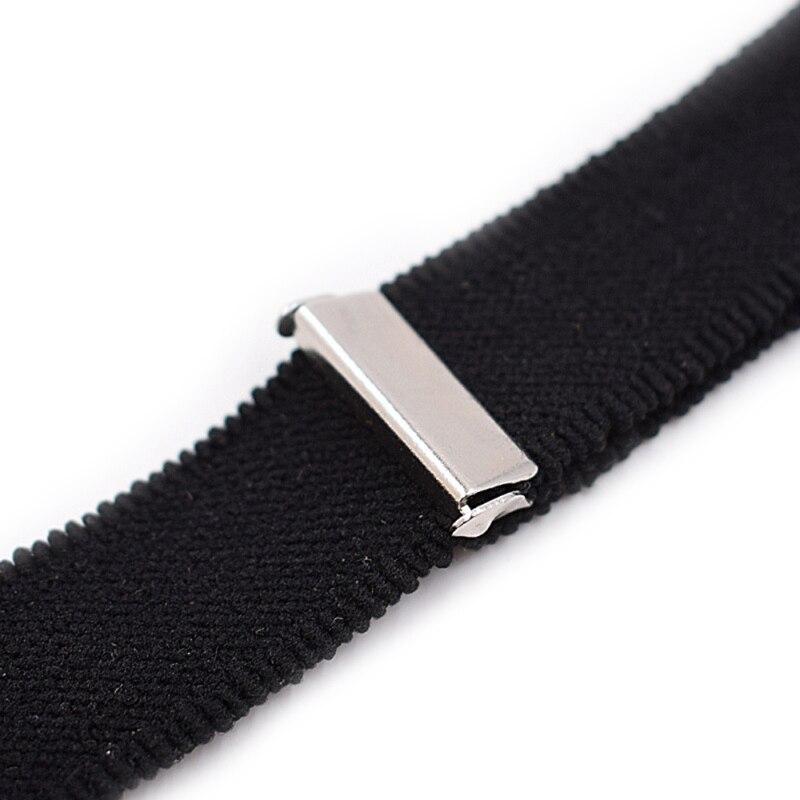 2 шт. Нейлон Y стиль резинка штанина подтяжки ремень рубашка остается нескользящий фиксатор зажимы черный новый