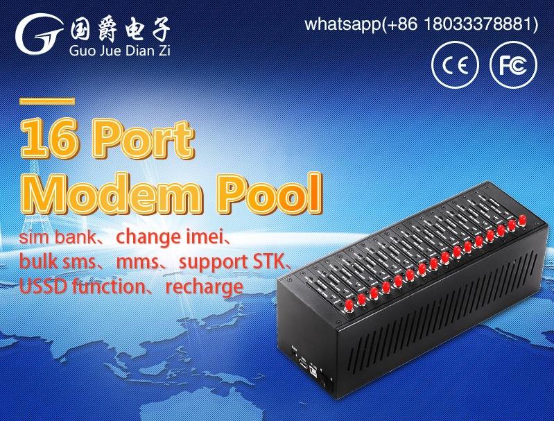 FIMT 16 puerto GPRS SMS Modem