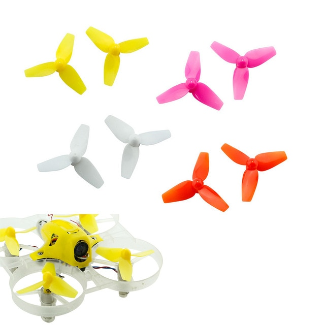 20 unids/lote Kingkong 31mm 40mm 3-Pala de la hélice accesorios para Tiny6 cuadricóptero de carreras de control remoto DIY Drone FPV Racer (10 pares)