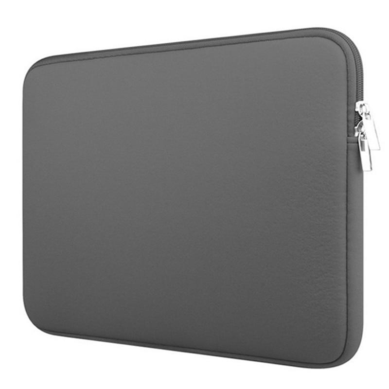 Полезный мягкий чехол для ноутбука, защитный чехол на молнии для ноутбука 11 12 13 14 15 15,6 дюймов для Macbook Pro Air Retina