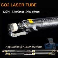 120 W קוטר צינור 60 ממ החדש חיתוך חריטה בלייזר Co2 לייזר CO2 מכונה חרט סימון זכוכית מנורת ראש