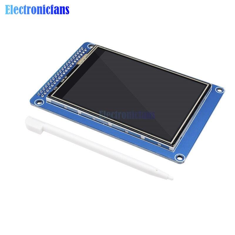 3,2 дюймов 240x320 RGB TFT ЖК-модуль дисплей, чем 128x64 ЖК-контроллер ILI9341 3,3 В 16 бит RGB565 DIY с сенсорной панелью sd-карта