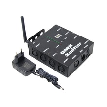 8 Kanalen Distributie Versterker Draadloze DMX512 Ontvanger 8 Manier Dmx Splitter DMX512 Voor Fase Licht