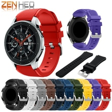 New Sport silicone strap band For Huami Amazift Stratos 2/2S Bracelet Soft Wrist watch strap for Samsung Galaxy Watch 46mm watch
