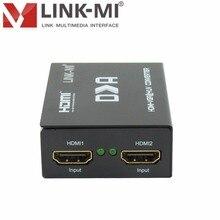 LINK-MI LM-HVY01 100% numérique HDMI vers VGA RGB & YPbPr convertisseur de signal haute définition analogique audio numérique sortie SPDIF