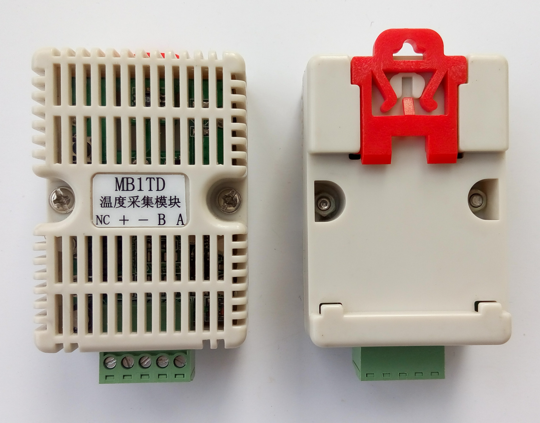 Temperature Sensor Temperature Transmitter DS18B20 Acquisition Module Modbus RTU RS485 Interface