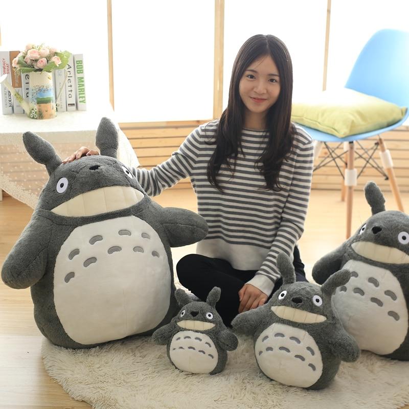 30-55cm Cute wedding press doll children birthday girl Kids Toys Totoro doll Large size pillow Totoro plush toy doll