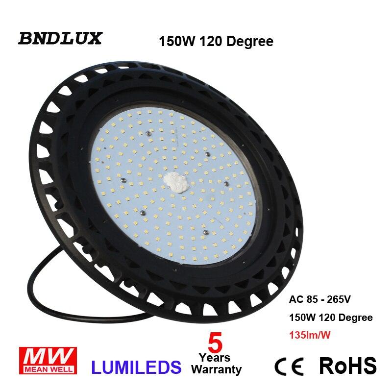 400W HPS/MH/HID equivalente LED campana montaje alto luz 100W 5000K 5500K luz del día