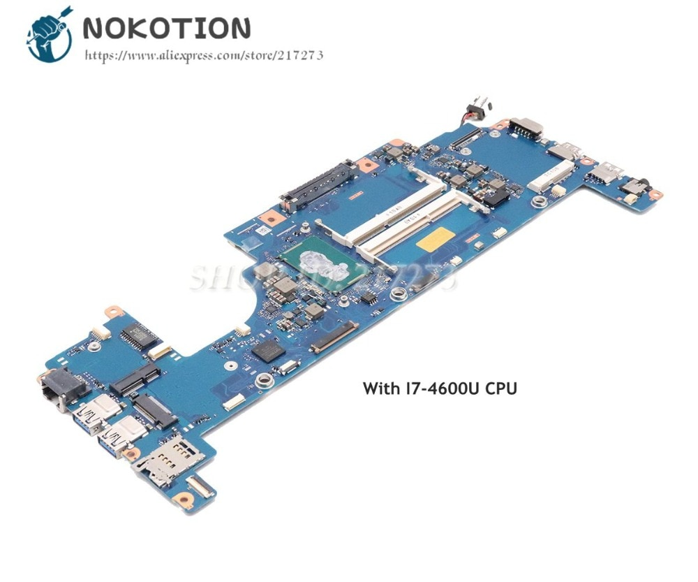 NOKOTION FAUXSY3 A3667A الرئيسي مجلس لتوشيبا Portege Z30 Z30-A اللوحة المحمول I7-4600U CPU DDR3