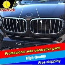 HLC garniture de calandre pour BMW X6 F16 2015   Garniture de calandre avant, couvercle de grille, accessoires de voiture