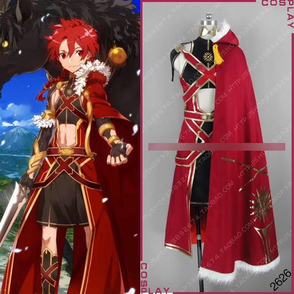 Traje de Halloween Terno para Mulher Personalizar Anime Fate Grand Order Figura Alexander Cosplay Roupa Nova