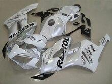 Nn-injection pour HONDA CBR 1000RR 04 05 CBR1000 RR 04-05 1000 RR argent blanc CBR1000RR 2004 2005