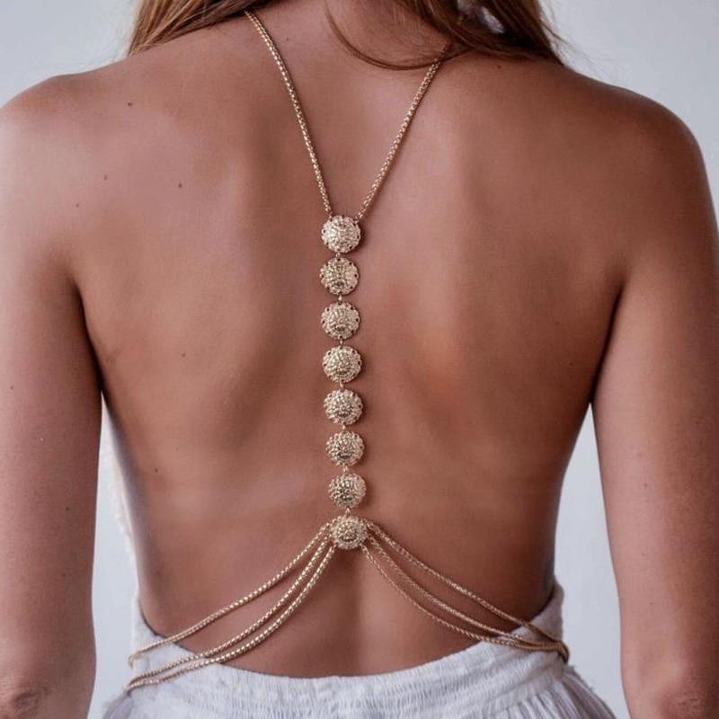 Женское Ожерелье, цепь на талию для бикини AN746