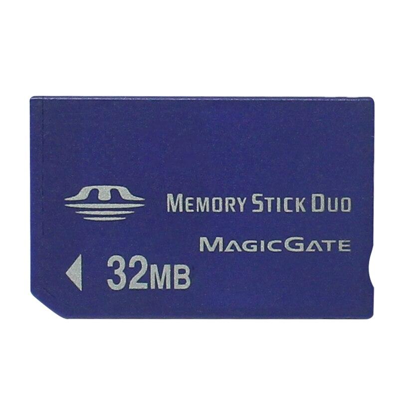 ¡Promoción! tarjeta de memoria Duo de 32MB para PSP/cámara para adaptador de tarjeta MS