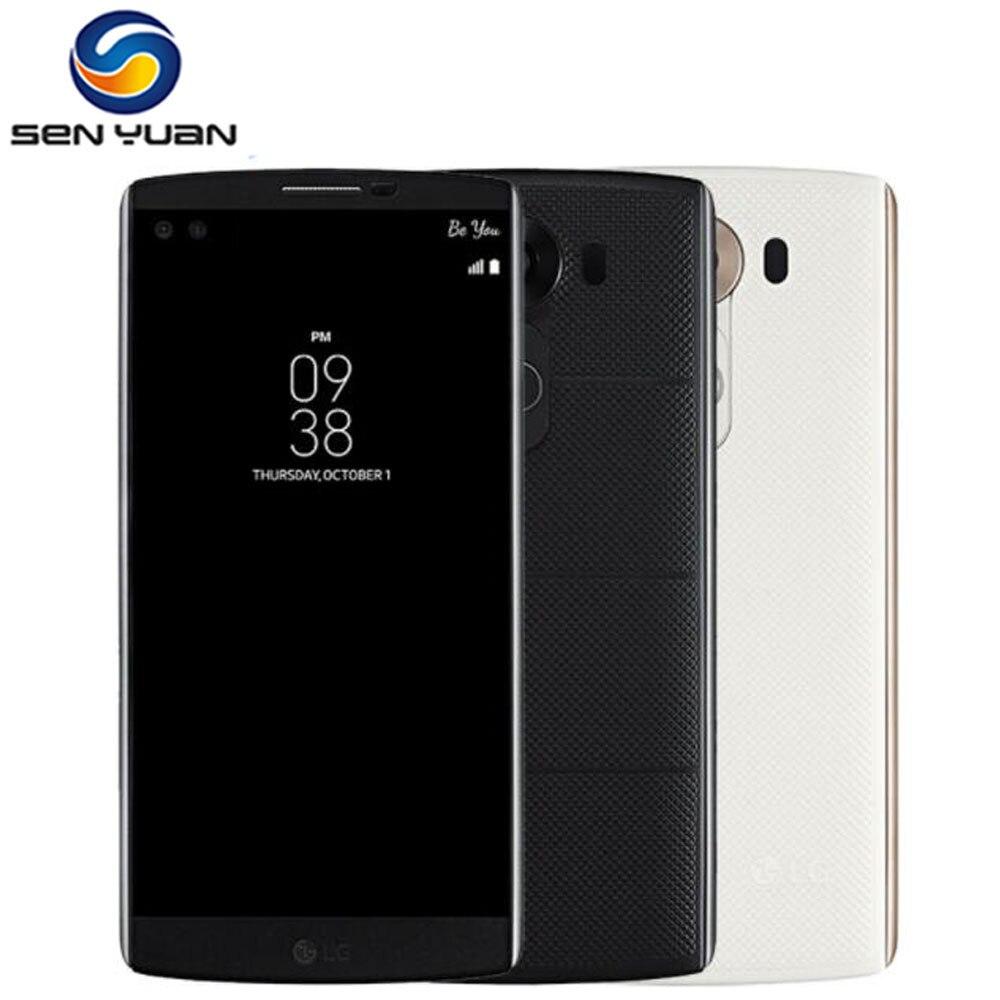 "Original desbloqueado LG V10 H900 H901 4G LTE Android Teléfono Móvil Hexa Core 5,7 ""16.0MP 4GB RAM 64GB ROM WIFI GPS teléfono celular"