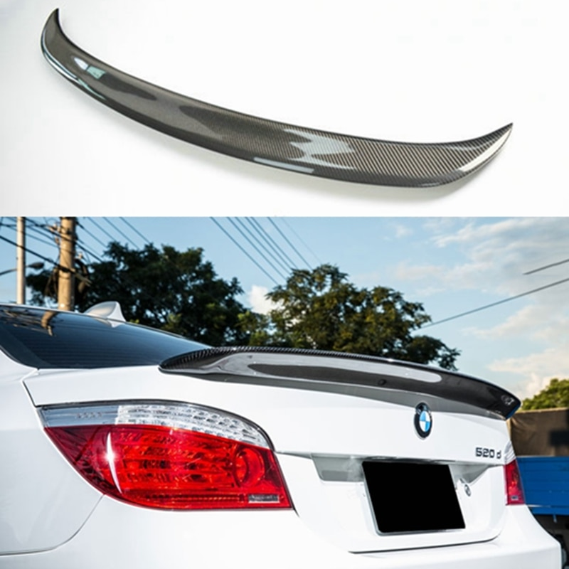 E60 Carbon Fiber AC Style Rear Roof Spoiler for BMW E60 5 Series 2004 2005 2006 2007 2008 2009