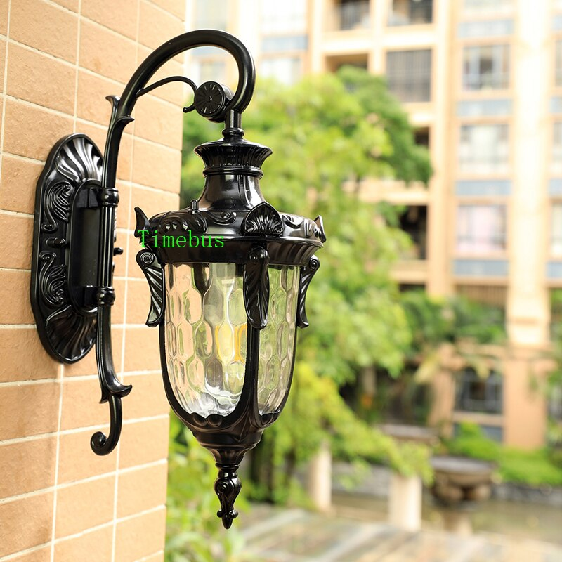 Outdoor Wall Lamp Exterior Wall Light Balcony Waterproof led Lights Front Door Courtyard Outdoor Lighting Outside porch Lights enlarge