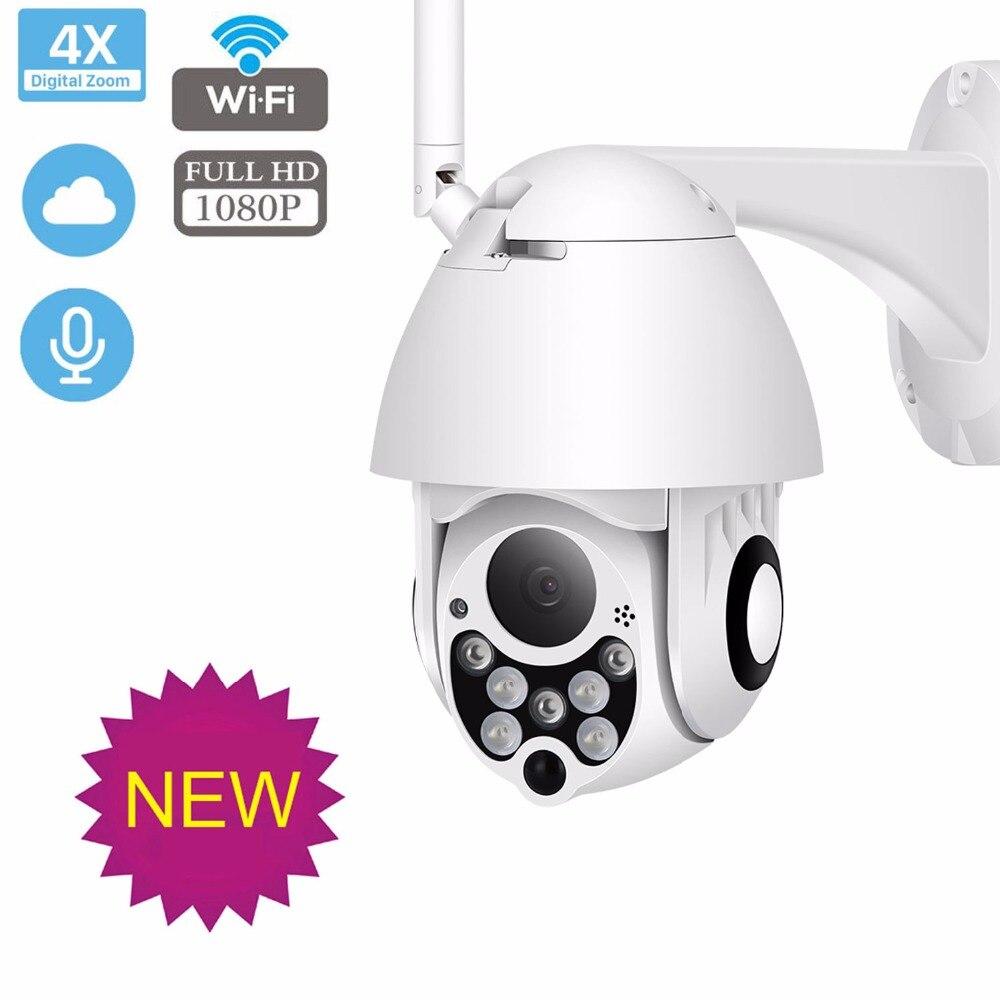 Cámara IP inalámbrica WiFi HD 1080P 2MP cámara de vigilancia de seguridad del hogar al aire libre IP66 CCTV PTZ ipCam cámara IP Cámara ipcamera