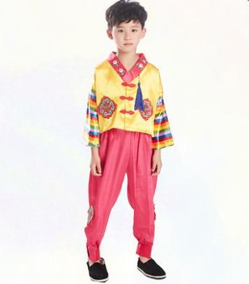 korea suit korea costume south korea clothing for children chinese traditional dance costumes kids festival dance clothes korea