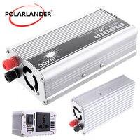 Car Power Inverter 1000W 24V DC to 110V AC Modified Sine Wave Converter Boat Car With USB Port voltage transformer