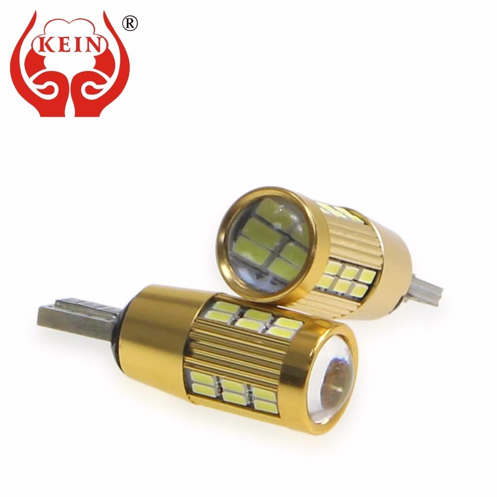 KEIN 4 шт. T10 Светодиодные W5W лампы 30smd 3014 t10 W5W светодиодный автомобильные лампы 194 белые задние боковые фонари для Чтения номерного знака