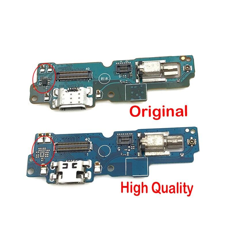 Nuevo para ASUS Zenfone 4 Pro Max ZC554KL muelle de cargador de conector de puerto de carga USB flexible Cable con vibrador y micrófono