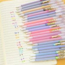 MIRUI القرطاسية لطيف اللوازم المدرسية 12/24/36 ألوان الألياف القلم 0.38 مللي متر غرامة جدا هلام القلم تحديد قلم تحديد
