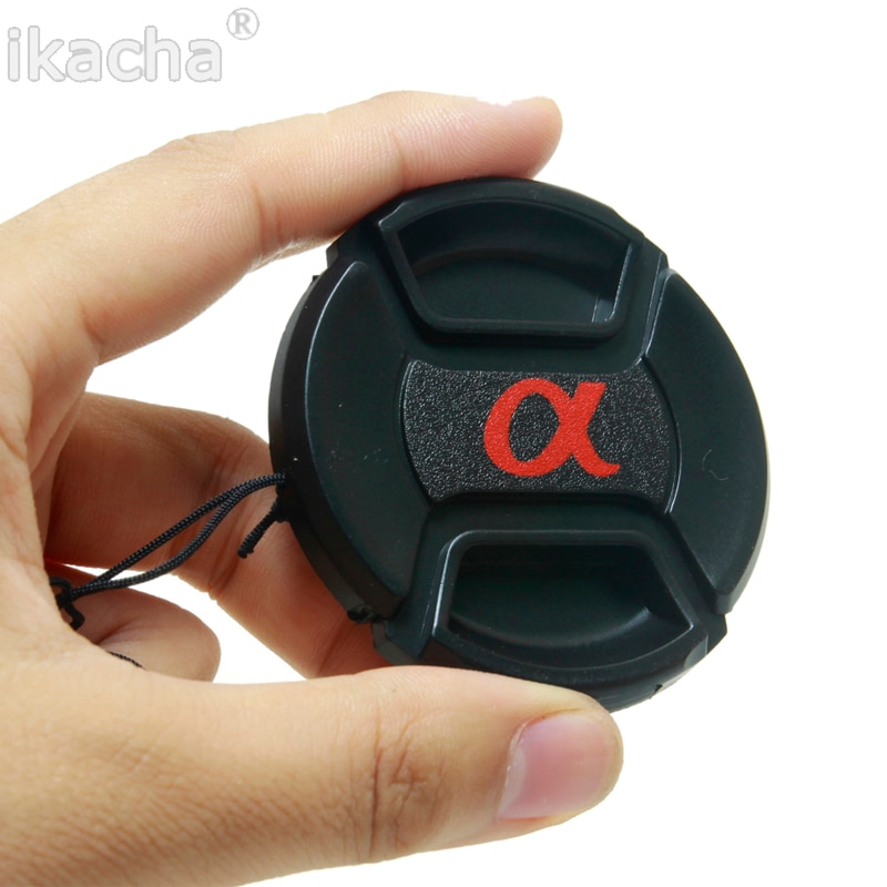 Protector de lente para cámara Sony Alpha DSLR, tamaño 49mm, 52mm, 55mm,...