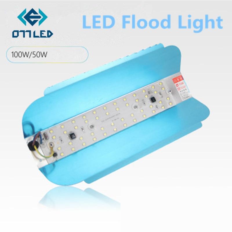Ledヨウ素タングステンフラッドライト 50 ワット 100 ワット投光器 220 v ledスポットライトrefletor led屋外照明ブラジリアンランプ洪水壁