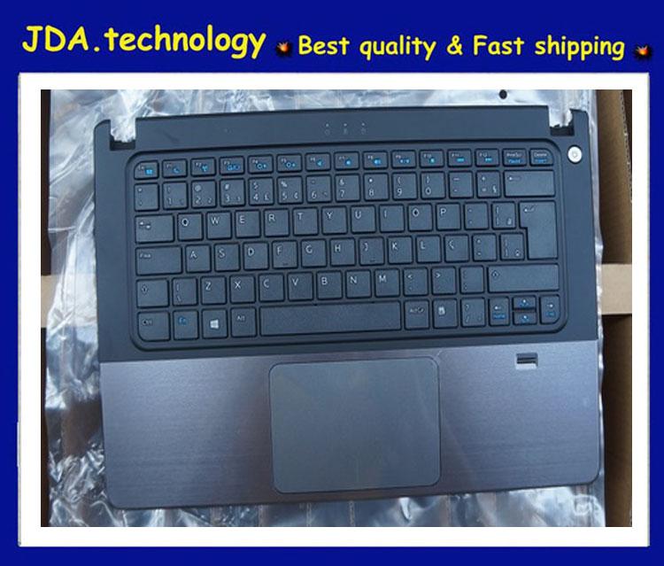 Wellendorff marca Palmrest topcase para DELL Vostro 5460 V5460 5470 P41G AEJW8 laptop Eur cubierta superior del teclado