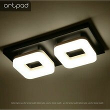 Artpad 12W lampe de plafond LED moderne ca 110 V-220 V plafonnier pour Restaurant hôtel couloir allée balcon luminaire