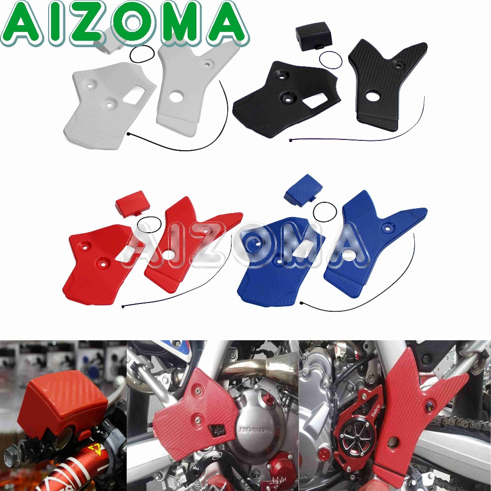 Motocicleta Supermoto Quadro Kit Frameguards Left & Right Guard Protector Capa Para Honda CRF250L CRF250M CRF250Rally 2012-2017