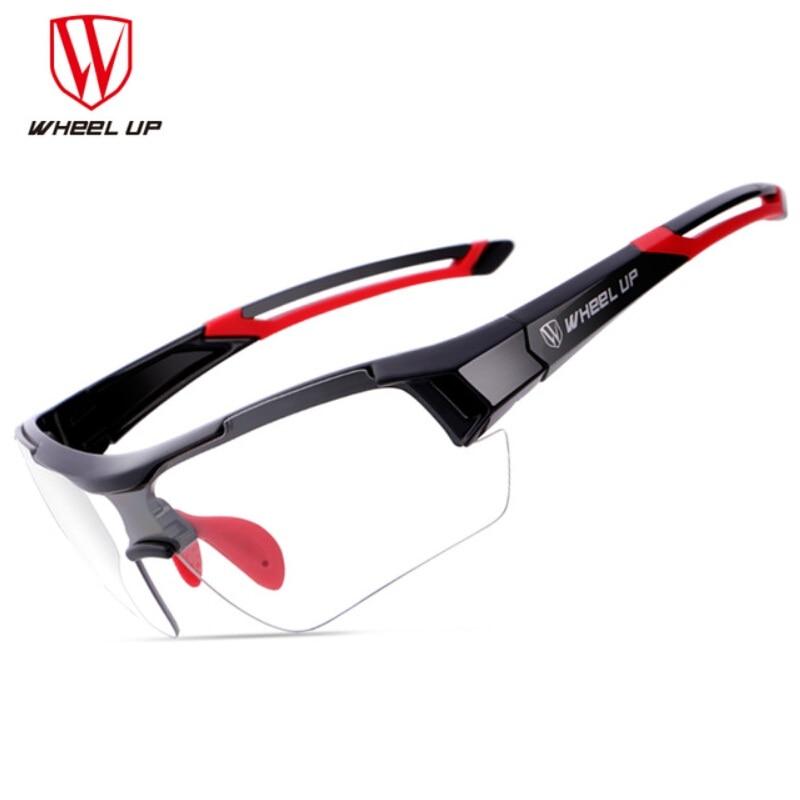 Gafas de Ciclismo fotocromáticas con rueda para montar en bicicleta MTB, gafas de sol para deportes de bicicleta, gafas de sol Anti-UV para Ciclismo