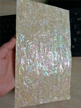 Doğal kabuk inci laminat levha kabuk kaplama kendinden yapışkanlı etiket arka 140x240mm 20 adet/grup
