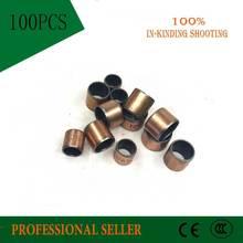 SF-1 0405 4*6*5 Oilless bush  DU Self-lubricating bushing Sintered bush  Size 4*6*5mm sliding bearing