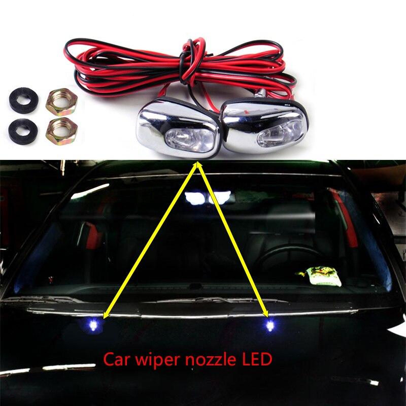 2pc de coche-limpiador de estilo de ojo luz indicadora de señalización para Audi A3 A4 B8 A6 Q5 C7 B5 Mercedes Benz W203 W204 W205 W124 W212 AMG