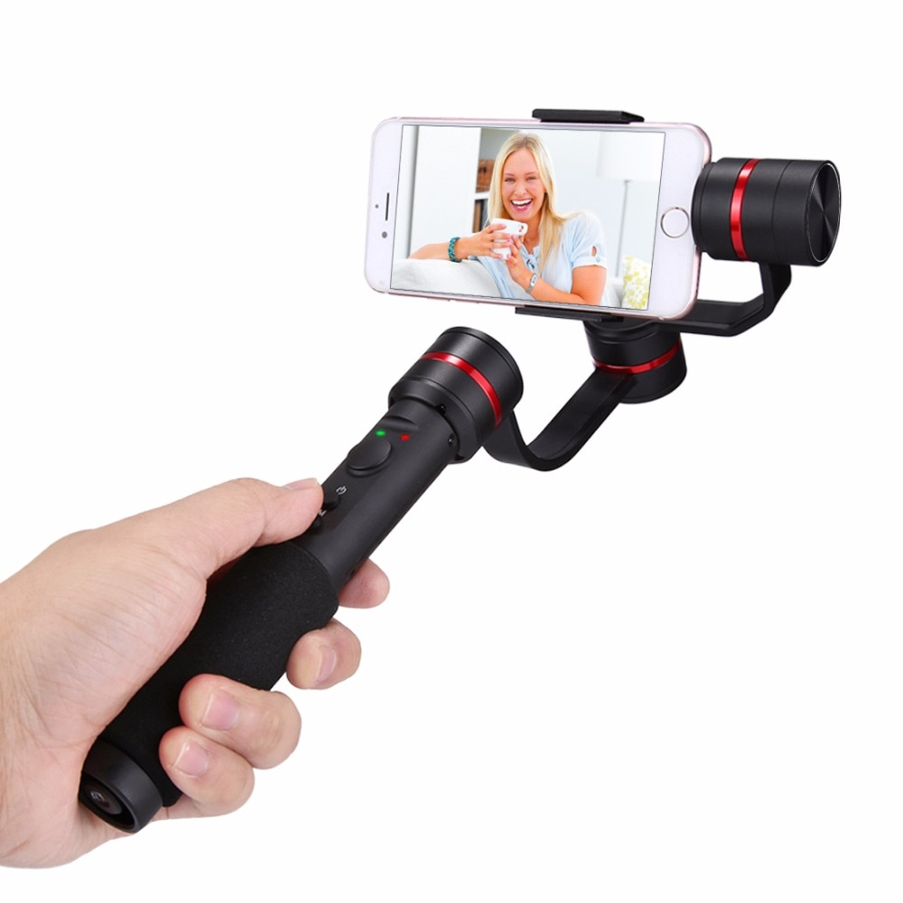 "G1 3-Axis Handheld Selfie Phone Gimbal Steadicam Stabilizer Clamp Mount for 4.7-5.5 ""Smartphones,360 Degree  gimbal"