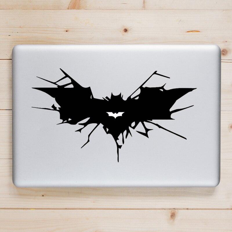Наклейка для ноутбука с изображением Бэтмена, наклейки для Apple Macbook Pro Air Retina 11, 12, 13, 14, 15 дюймов, HP Mac Book Skin, наклейка для ноутбука