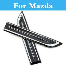 Abs cromo capucha capó decorativo para Mazda Roadster Rx-8 Spiano homenaje Verisa Demio Laputa Mx-5 proceder Levante