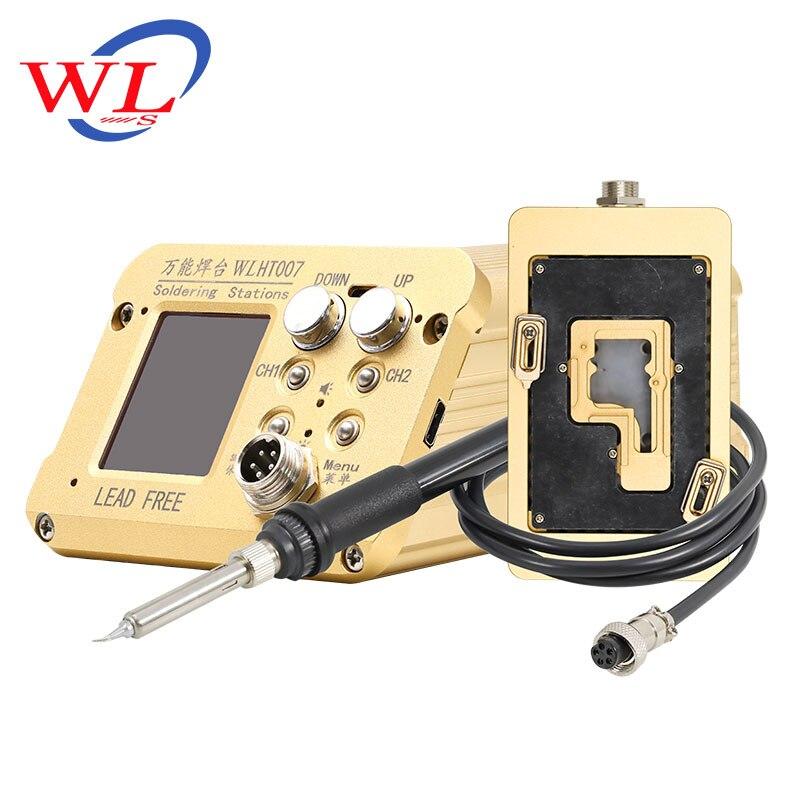 Wl ht007 multi-purpose estação de solda de aquecimento para iphone x xs max placa-mãe universal plataforma de solda desoldering estação