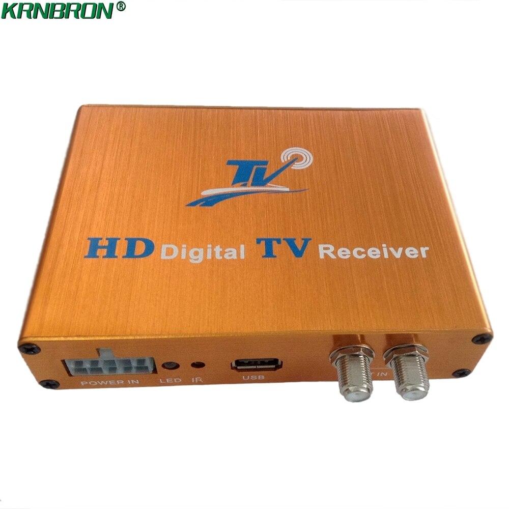 Car DVB-T HD MPEG4 Digital TV Receiver